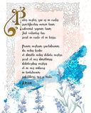 Our Father in Latin, the Lord's Prayer Printable - benedictaveils