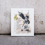 Saint Michael the Archangel Prayer Printable - benedictaveils