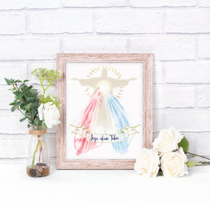 Divine Mercy Jesus I trust in You Image