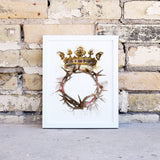 Crown of thorns, christ the king, easter, resurrection