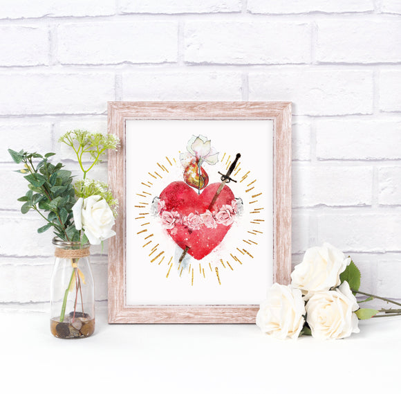 immaculate heart of mary image