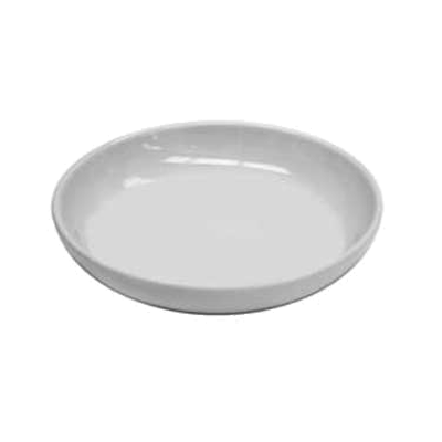 Thunder Group 1003TW Melamine Sauce Dish, 3 oz. Imperial White