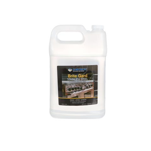 Component Hardware Q85-2128, 1-Gallon Brite-Gard Stainless Steel Cleaner/Protectant Refill Bottle