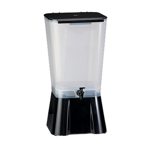 "TableCraft Products 1053 Beverage Dispenser, 5 gallon, single, 10-7/8"" x 12-1/2"" x 22-1/4""H, Made in USA, black, NSF"