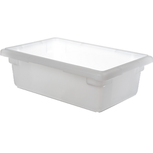 "Carlisle 1063102 StorPlus™ Food Storage Box, 3-1/2 gallon, 18""L x 12""W x 6""H, white, NSF, Made in USA, BPA Free"