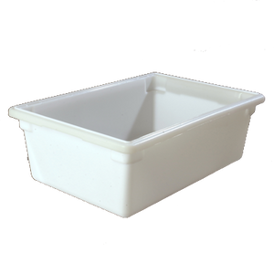 "Carlisle 1064202 StorPlus™ Food Storage Box, 12-1/2 gallon, 26""L x 18""W x 9""H, white, NSF, Made in USA, BPA Free"