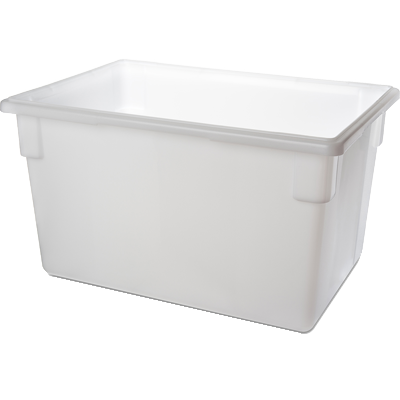 "Carlisle 1064402 StorPlus™ Food Storage Box, 21-1/2 gallon, 26""L x 18""W x 15""H, white, NSF, Made in USA"