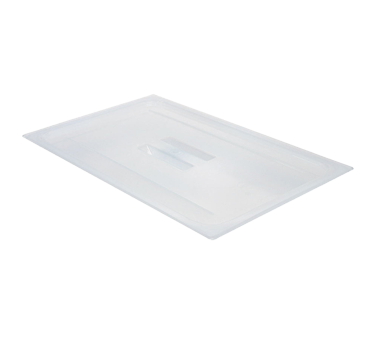 Cambro 10PPCH190 Food Pan Cover, full size, with handle, polypropylene, translucent, NSF