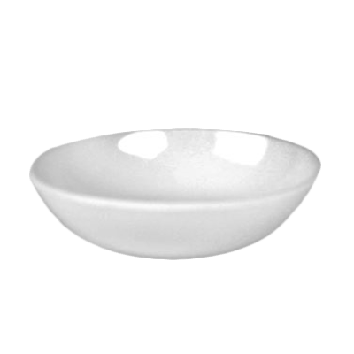 Thunder Group 1101TW Melamine Sauce Dish, 1 oz. Imperial White