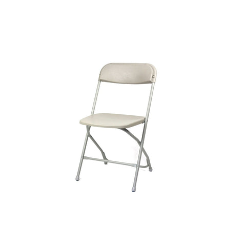DHC 1116-GRY Folding Banquet Steel Chair, Gray Finish