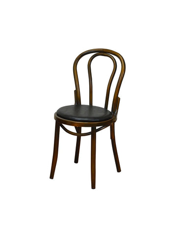 DHC 1266-COPP Steel Dining Chair,  Antique Copper Finish