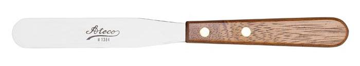 "Ateco 1375, 10"" large straight spatula"