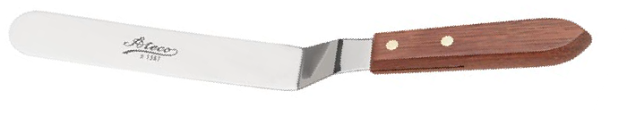 Ateco 1387, medium offset spatula 7.63""