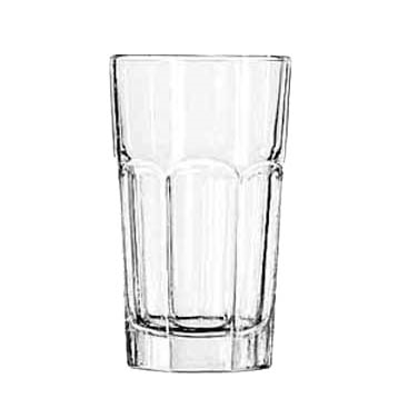 Libbey 15239 Hi-Ball Glass, Gibraltar®, 7 oz., 3 dz Per Case