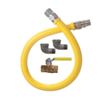 "Dormont 1675NPKIT24 Dormont Stationary Gas Connector Kit, 3/4"" inside diameter, 24"" long, limited lifetime warranty"
