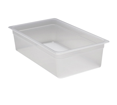 Cambro 16PP190 Food Pan, full size, 6 deep, polypropylene, translucent, NSF