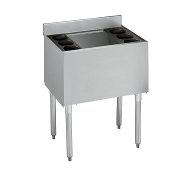 Krowne 18-24-7 Standard 1800 Series, Underbar Ice Bin/Cocktail Unit, built-in 7-circuit cold plate, NSF
