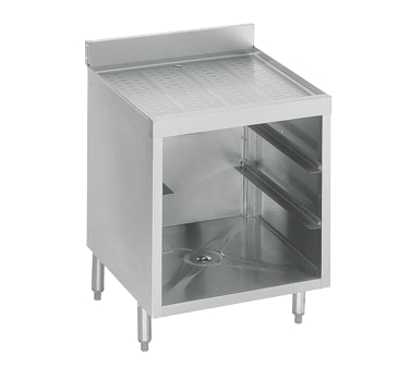 Krowne 18-GSB1 Standard 1800 Series, Underbar Glass Rack Storage Unit, drainboard top, NSF