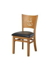 DHC 236-NAT Coffee Cup Wood Restaurant Chair