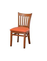 DHC 242-CHE Cherry Finish, Vertical Slat, Wood Dining Chair