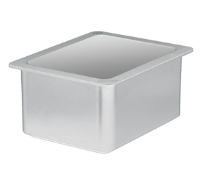 Cambro 26CF148 ColdFest Food Pan, 1/2 size, 6 deep, stackable, white, NSF