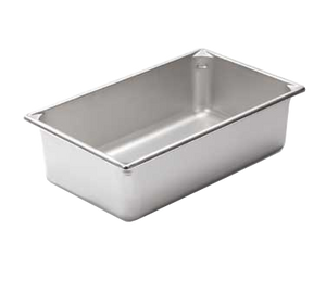 "Vollrath 30062 Super Pan V® Food Pan (Full Size), 6"" Deep, Stainless Steel"