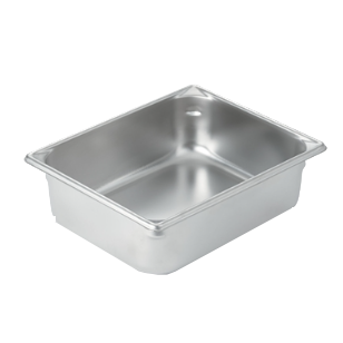 "Vollrath 30242 Super Pan V® (Half-Size) Food Pan 4"" Deep, Stainless Steel"