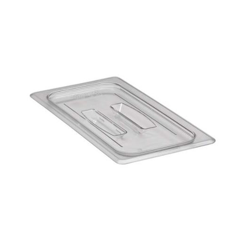 Cambro 30CWCH135 Camwear Food Pan Cover, 1/3 size, with handle, polycarbonate, clear, NSF