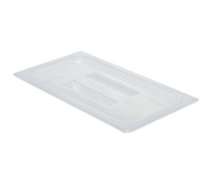 Cambro 30PPCH190 Food Pan Cover, 1/3 size, with handle, polypropylene, translucent, NSF