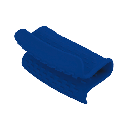 Araven 31211 Silicone Hot Holder, Blue