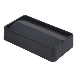 Carlisle 34202423 Trimline™ Swing Top Lid, rectangular, fits 15/23 gallon Trimline™ waste containers, ABS plastic, gray