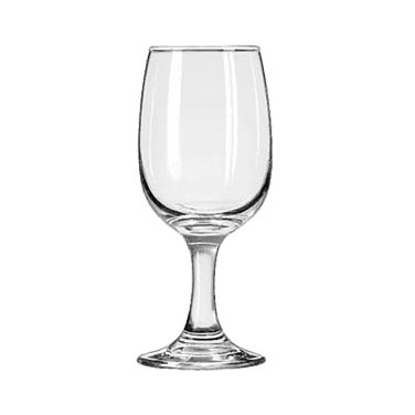 Libbey 3765 Wine Glass, 8-1/2 oz., 2 dz Per Case