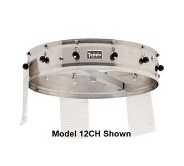 "Carlisle 3820CH Order Wheel, ceiling-mount, 23"" dia., 20 ball/spring clips, stainless steel"