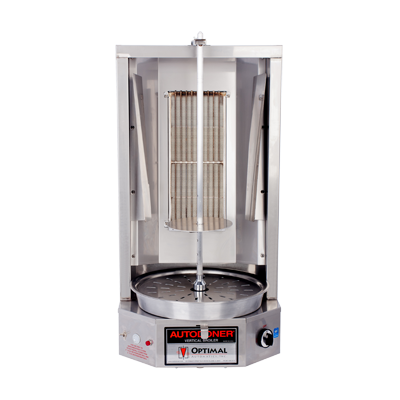 Optimal Automatics 3PGM Autodoner® Vertical Broiler (Gyro) - Gas, 35 Lbs. Capacity