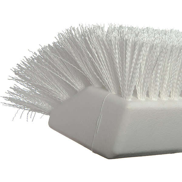 "Carlisle 4042302 Sparta® Hi-Lo Floor Brush Head (only), 10""L x 4-1/2""W, white"