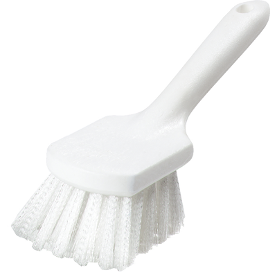 "Carlisle 4054500 Sparta® Utility Kitchen Brush, 8""L x 3""W, buoyant, hanging hole, break-resistant, standard color, BPA Free"