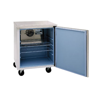 "Delfield 407 Undercounter Freezer, single-section, 27"" W, 5.7 cubic feet, 1/5 hp, NSF, cUL, ENERGY STAR®"