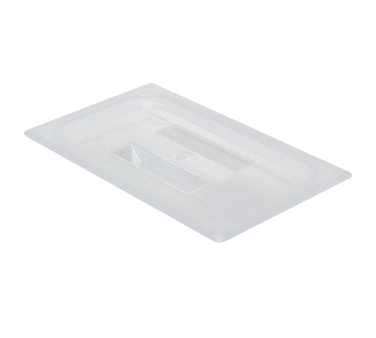 Cambro 40PPCH190 Food Pan Cover, 1/4 Size (with Handle), Translucent, Polypropylene