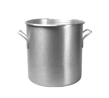 "Vollrath 430712 Stock Pot, 30 quart, 13"" dia., 13-7/8"" deep, 3004 aluminum alloy, without cover, NSF, Made in USA"