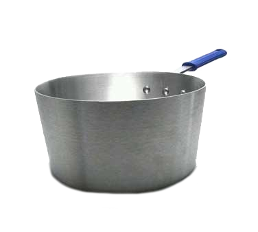 "Vollrath 4350 Wear-Ever® Tapered Sauce Pan, 10 quart, 6-1/4"" deep, 12-1/16"" top dia., 10-1/2"" bottom dia., 11 gauge aluminum alloy, natural finish, NSF, Made in USA"
