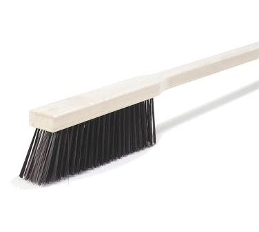 "Carlisle 4577200 Sparta® Pizza/BBQ Oven Brush, 5-1/2"" brush, 33"" handle, hardwood handle, standard color"