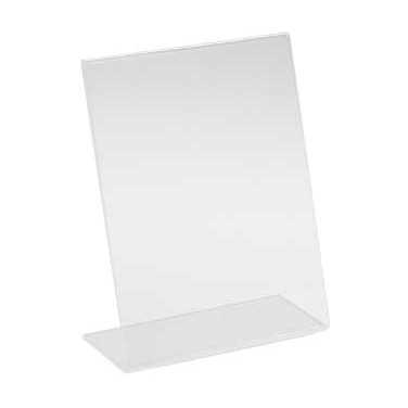 "Cal-Mil 513 Classic Display Easel, 8 1/2"" x 11"" H, clear, acrylic"
