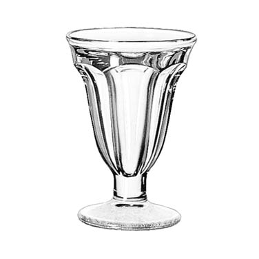 Libbey 5315 Sundae Dish, 6-1/4 oz., glass, 2 dz Per Case