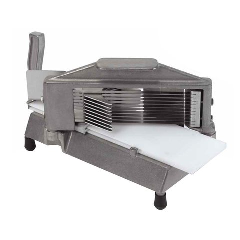 "Nemco 55600-3 Easy Tomato Slicer™, manual, 7-1/4""W x 15-1/4""D x 8-1/4""H closed dimensions, 3/8"" slice, stainless steel blades, NSF"
