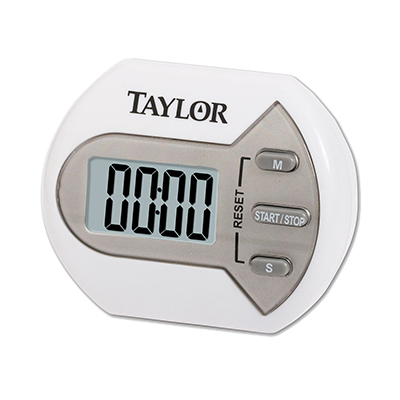 "Taylor 5806 Multi-Purpose Timer, digital, compact, 0.7"" LCD readout"