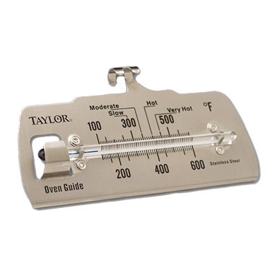 Taylor 5921N Oven Guide Thermometer, Temperature Range 100° to 600° F