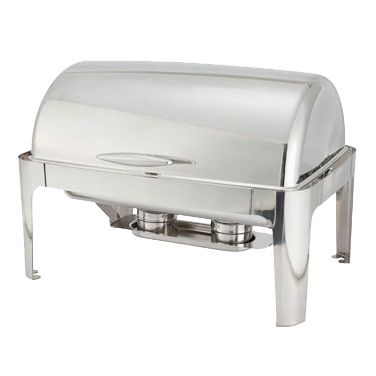 Winco 601 Madison 8 Qt. Chafer, Stainless Steel