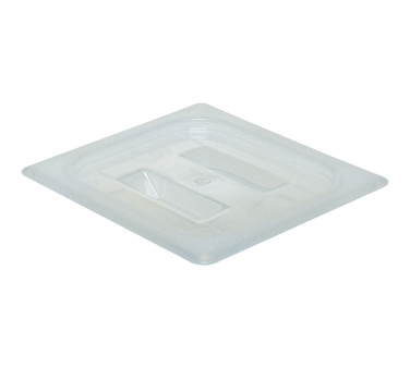 Cambro 60PPCH190 Food Pan Cover, 1/6 size, with handle, polypropylene, translucent, NSF