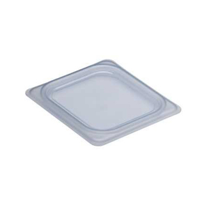 Cambro 60PPCWSC190 Camwear Food Pan Seal Cover, 1/6 size, 6-15/16L x 6-3/8W, material is safe from -40F to 160F -4C to 70C, polypropylene, translucent, NSF