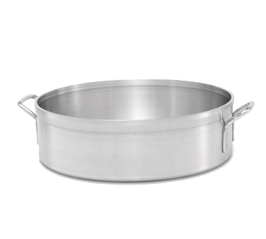 "Vollrath 67228 Classic Select™ Brazier, 28 quart, 3004 Heavy Duty Aluminum, natural finish, 20"" inside dia., NSF, Made in USA, Limited Lifetime Warranty"